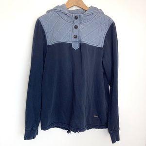 HUGO Boss Navy Blue Pullover Hooded Sweatshirt